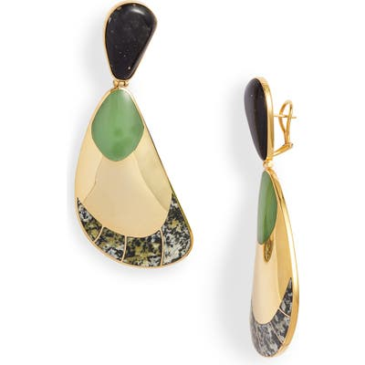 Monica Sordo Garzon Jasper Drop Earrings