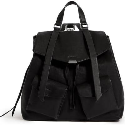 Allsaints Tower Leather Backpack - Black