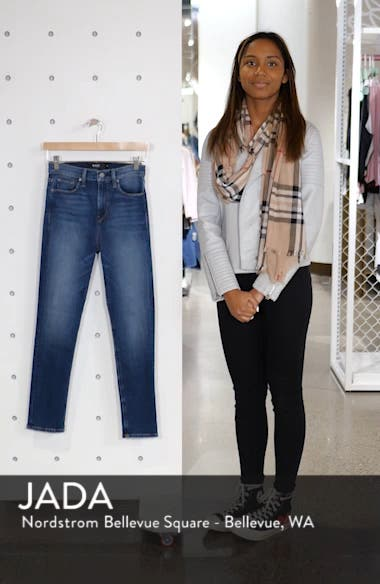 Holly High Waist Crop Skinny Jeans, sales video thumbnail