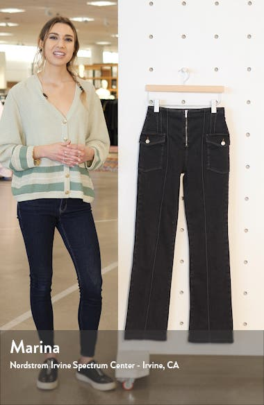 Pintucked Flare Jeans, sales video thumbnail