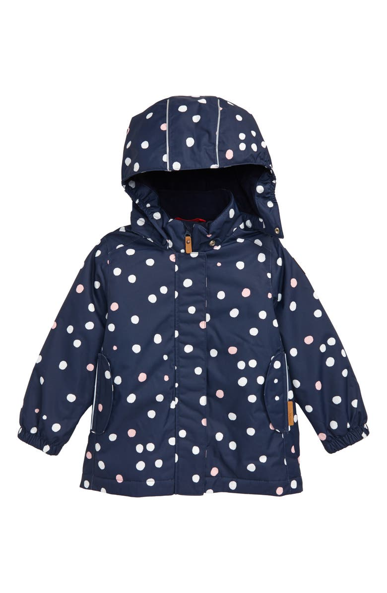 REIMA Aseme Reimatec<sup>®</sup> Water Resistant Hooded Winter Jacket, Main, color, NAVY