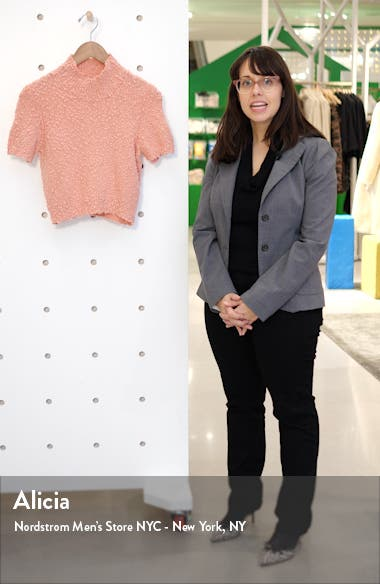 Crop Short Sleeve Sweater, sales video thumbnail