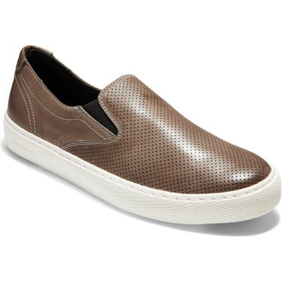 Cole Haan Grandpro Deck Slip-On- Grey