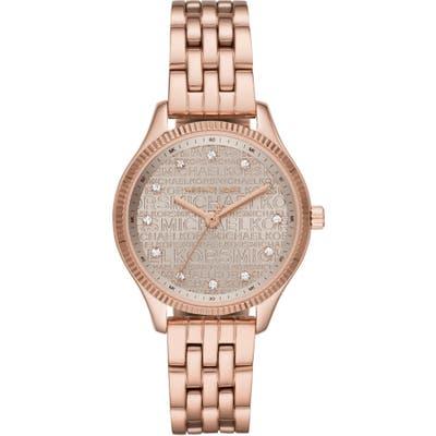 Michael Kors Lexington Logo Bracelet Watch,