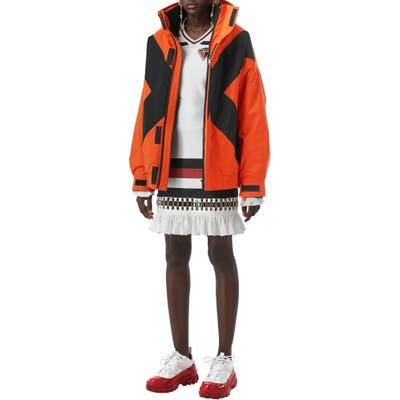Burberry Fleece Lined Jacket, Orange