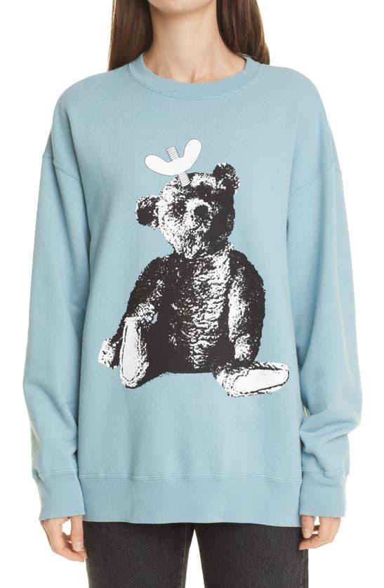 UNDERCOVER Sweatshirts TOY TEDDY BEAR GRAPHIC COTTON SWEATSHIRT