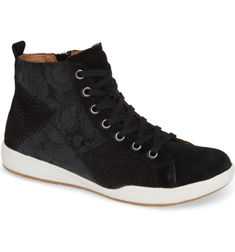 COMFORTIVA Lupine Sneaker, Main, color, BLACK MULTI