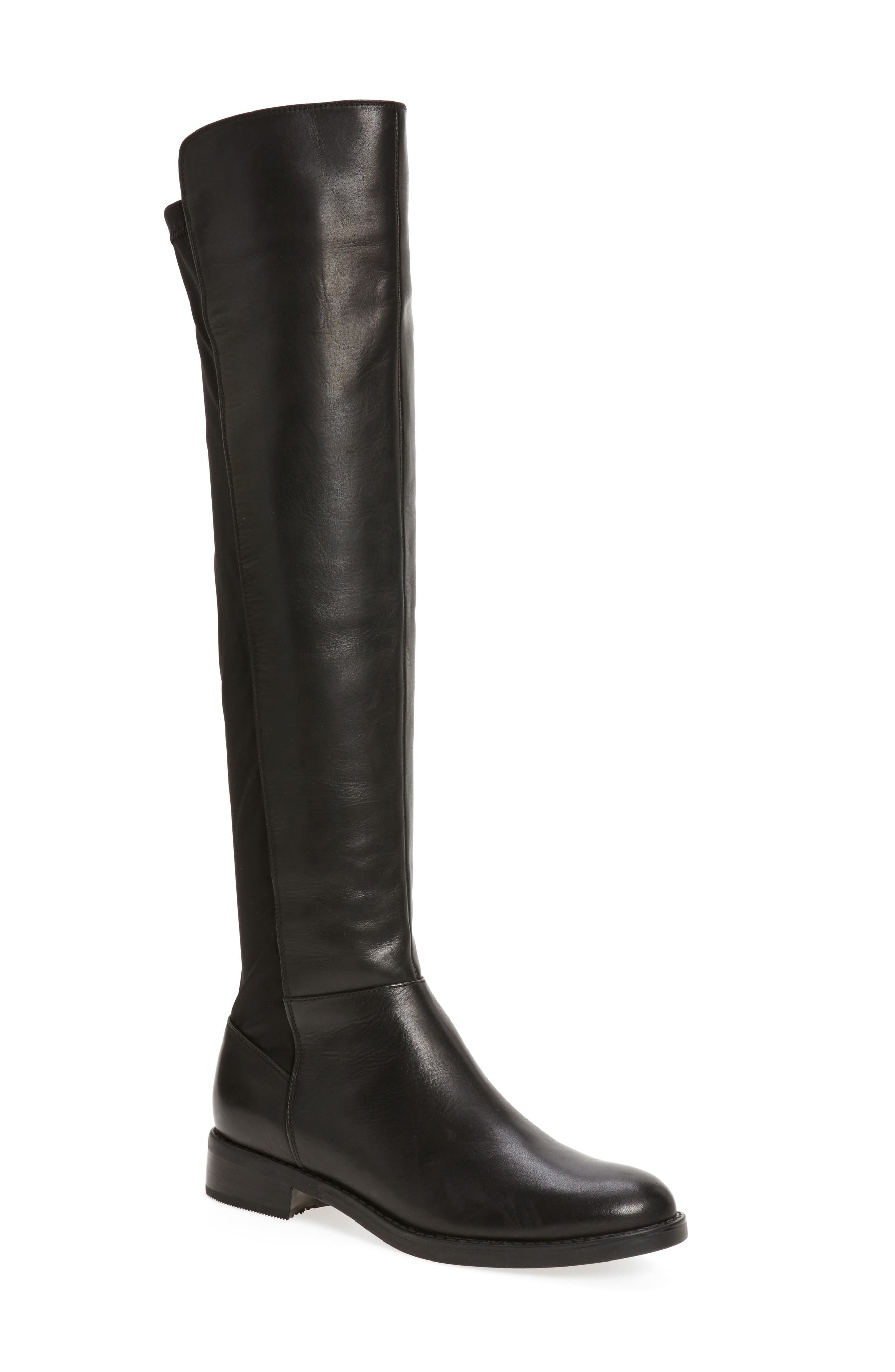 Olivia Knee High Boot, Main, color, 001