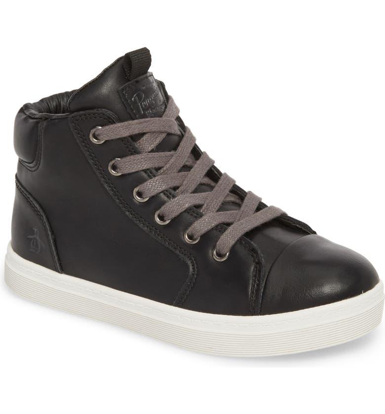 ORIGINAL PENGUIN Carson High Top Sneaker, Main, color, 001