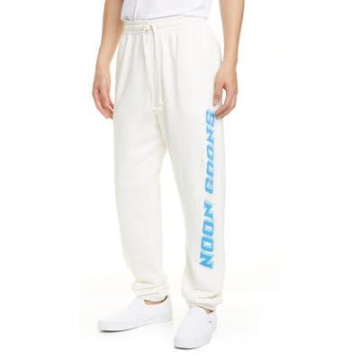 Noon Goons Practice Sweatpants, White