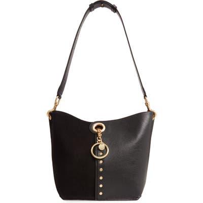 See By Chloe Gaia Leather Shoulder Bag - Black