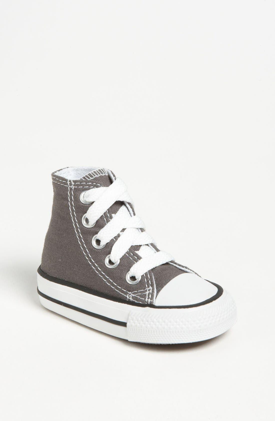 ,                             All Star<sup>®</sup> High Top Sneaker,                             Main thumbnail 1, color,                             CHARCOAL