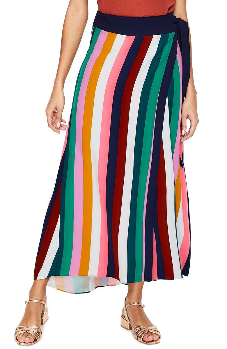 Portia Stripe Maxi Skirt petite size