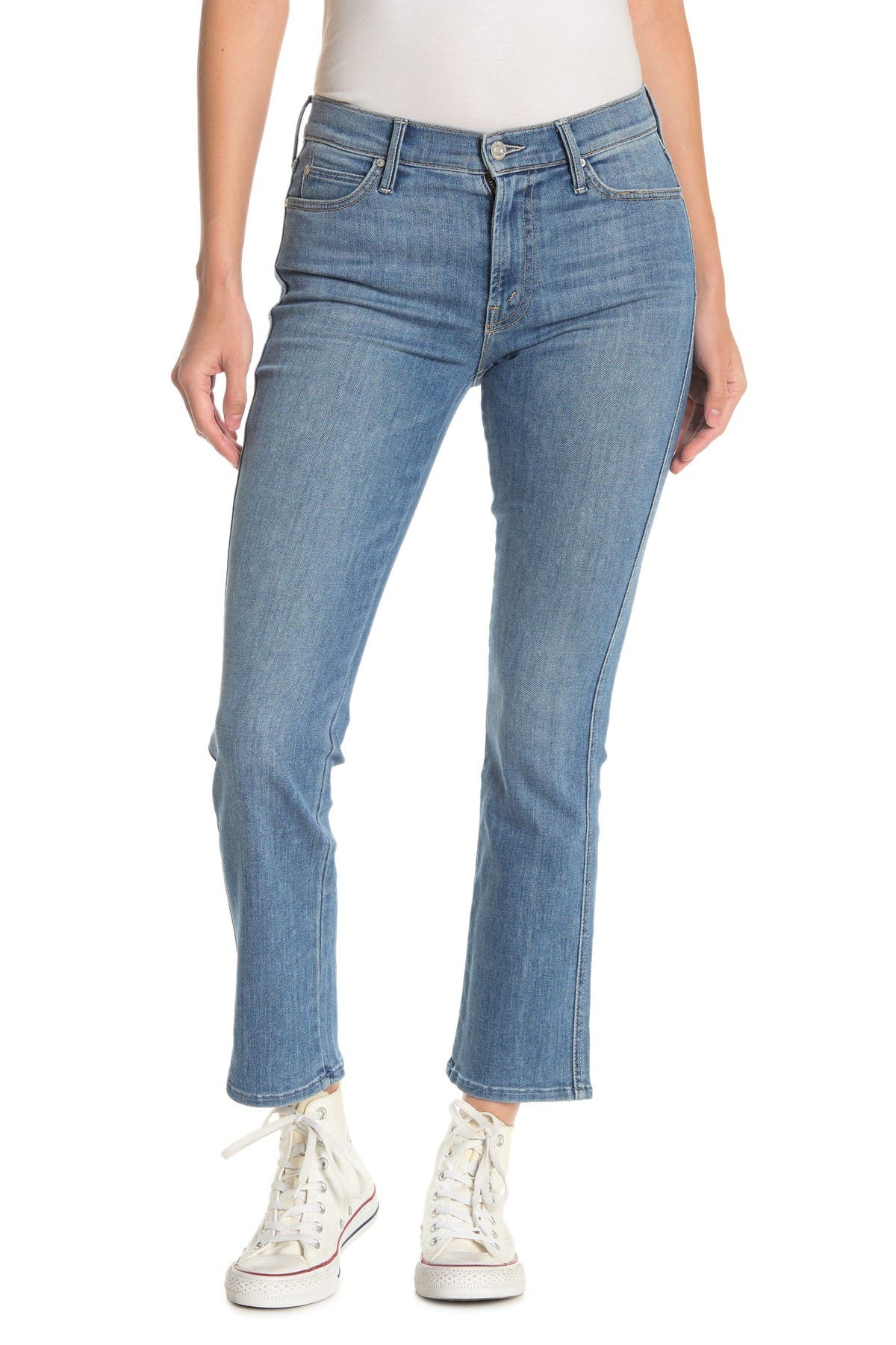 Image of MOTHER The Rascal Ankle Straight Leg Jeans