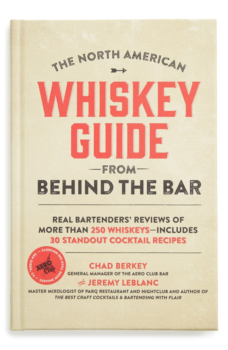 MACMILLAN 'The North American Whiskey Guide from Behind the Bar' Book, Main, color, 100