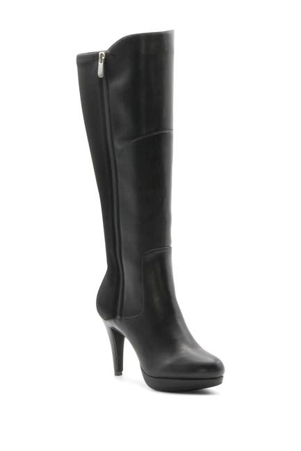 Image of Adrienne Vittadini Pisa Stretch Tall Dress Boot