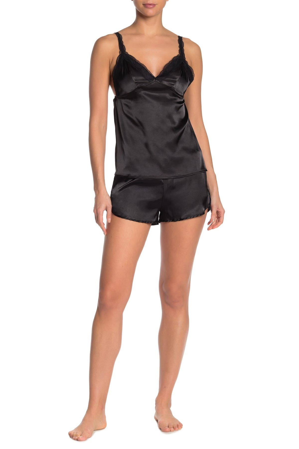Image of COZY ROZY Rozy Camisole & Shorts Pajama 2-Piece Set