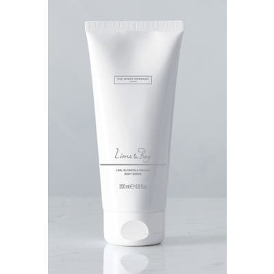 The White Company Lime & Bay Body Scrub