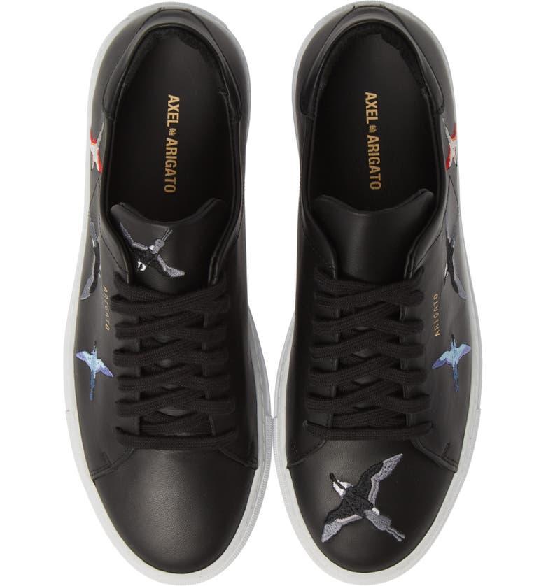AXEL ARIGATO Clean 90 Sneaker, Main, color, BLACK W/ BIRDS