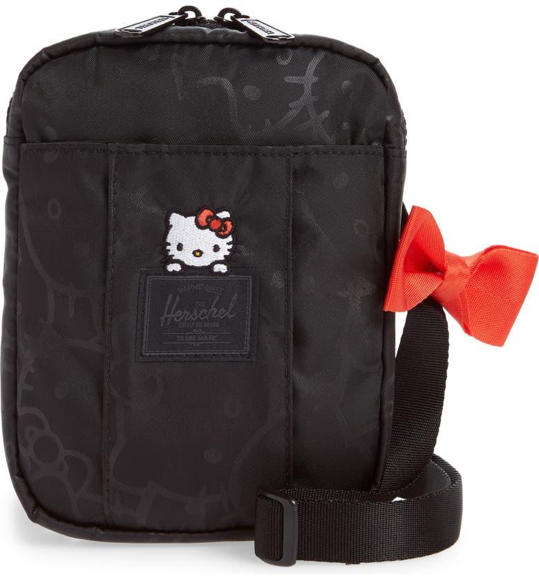HERSCHEL SUPPLY CO. Hello Kitty Cruz Crossbody Bag, Main, color, 001