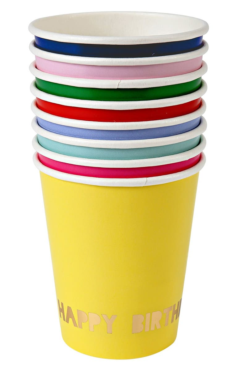 MERI MERI 'Toot Sweet' Paper Party Cups, Main, color, 400