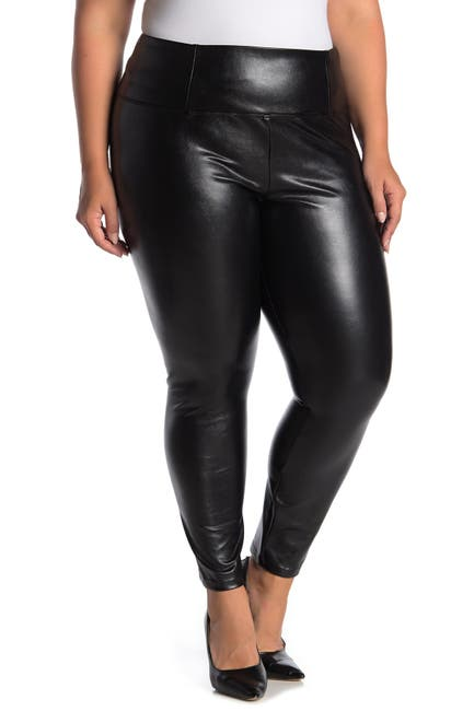 Image of Love, Fire Faux Leather Leggings