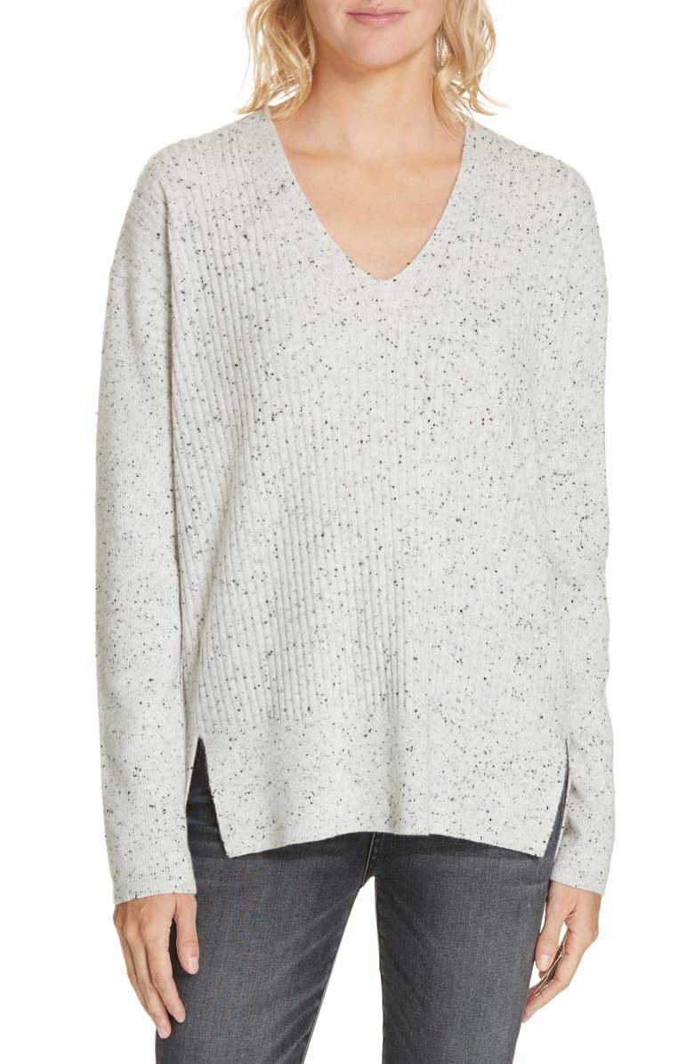 NORDSTROM SIGNATURE Cashmere Pullover, Main, color, 050