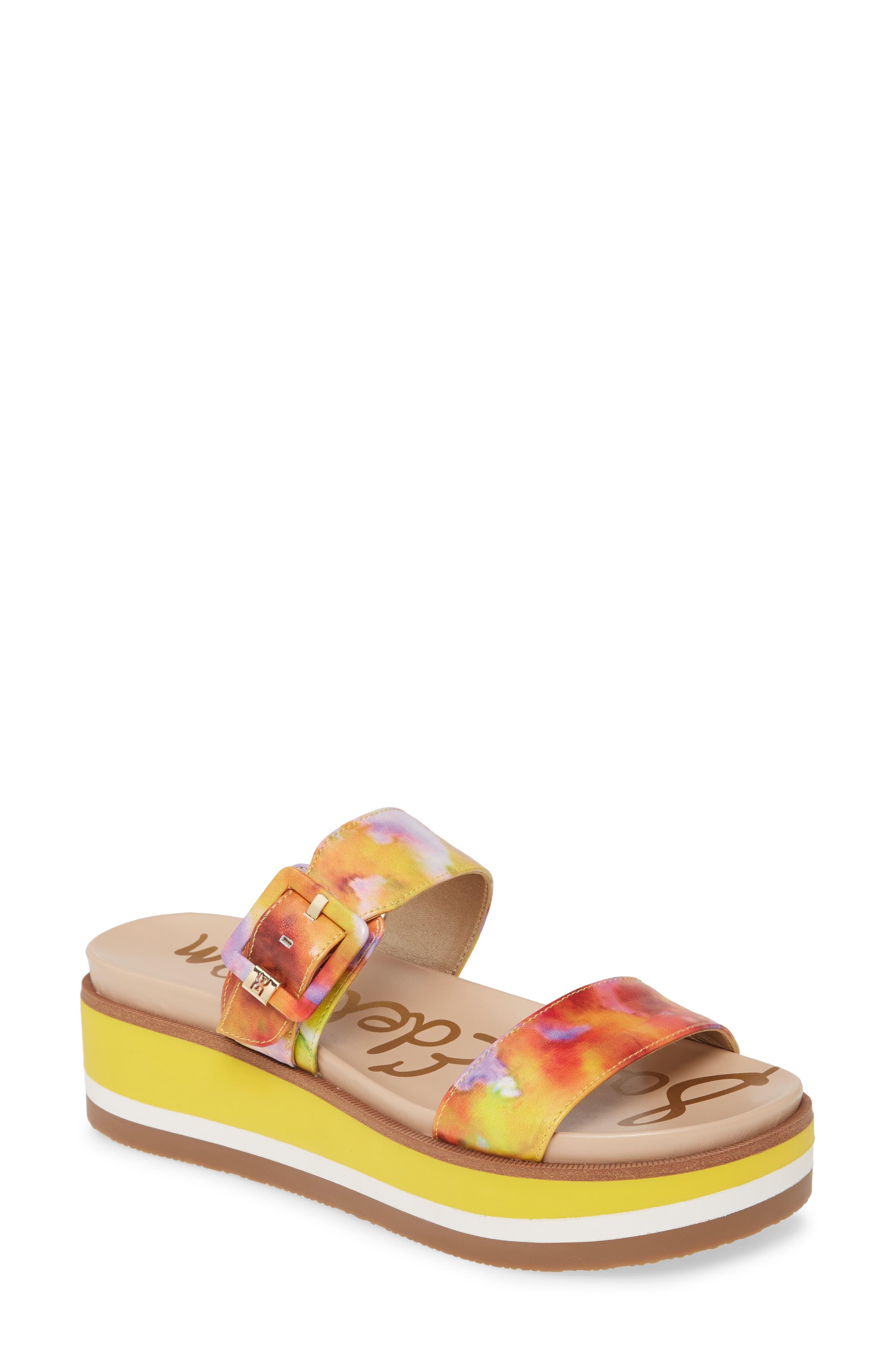 Sam Edelman Agustine Platform Sandal (Women)