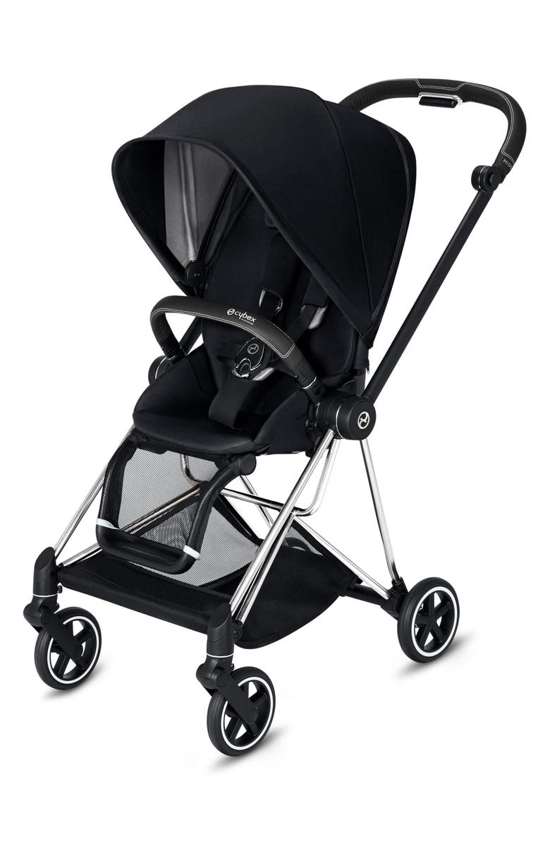 CYBEX Mios Compact Stroller, Main, color, BLACK