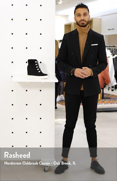 Kam Faux Fur High Top Sneaker, sales video thumbnail