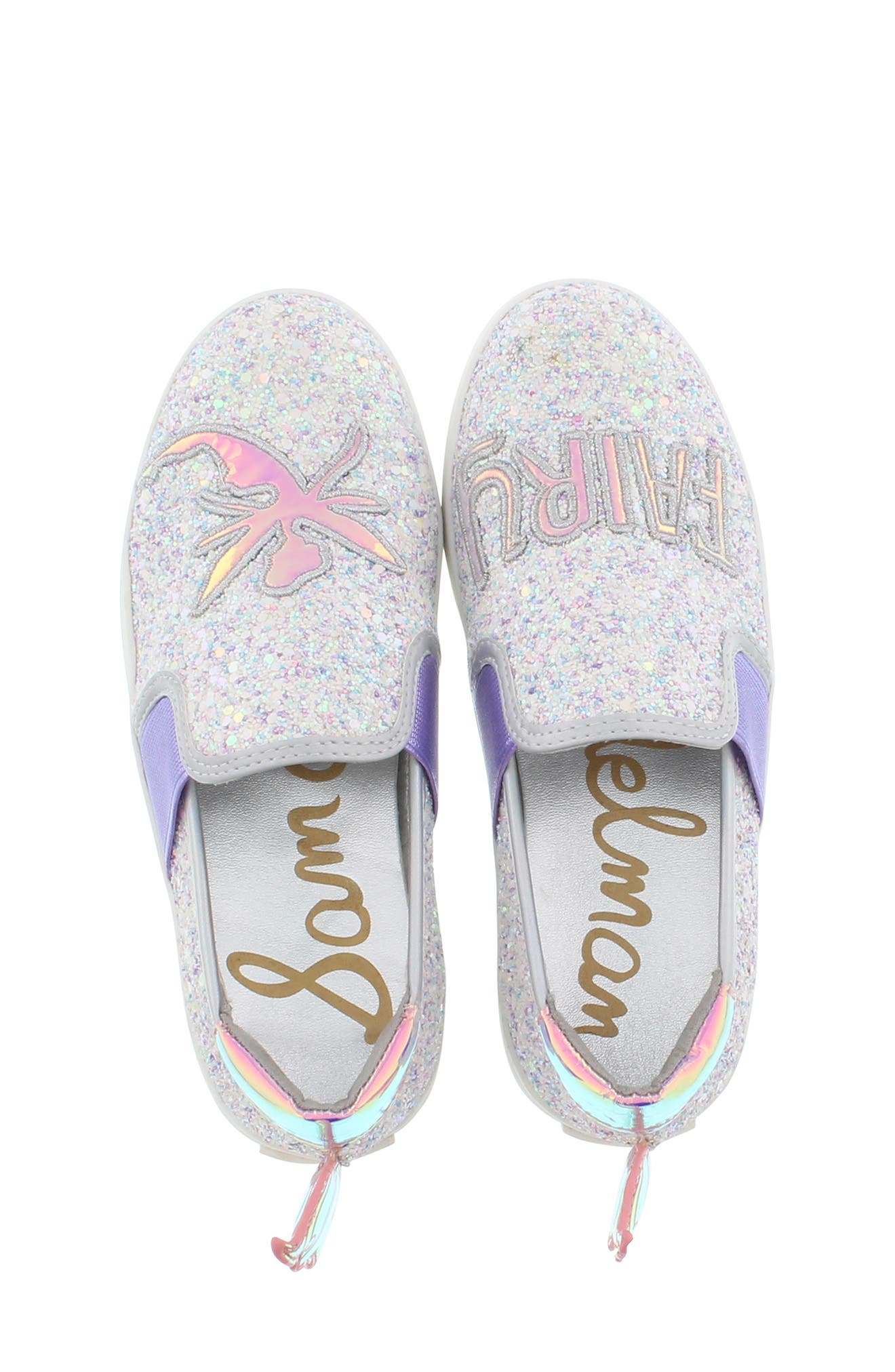 ,                             Blake Lina Fairy Glitter Slip-On Sneaker,                             Alternate thumbnail 5, color,                             040