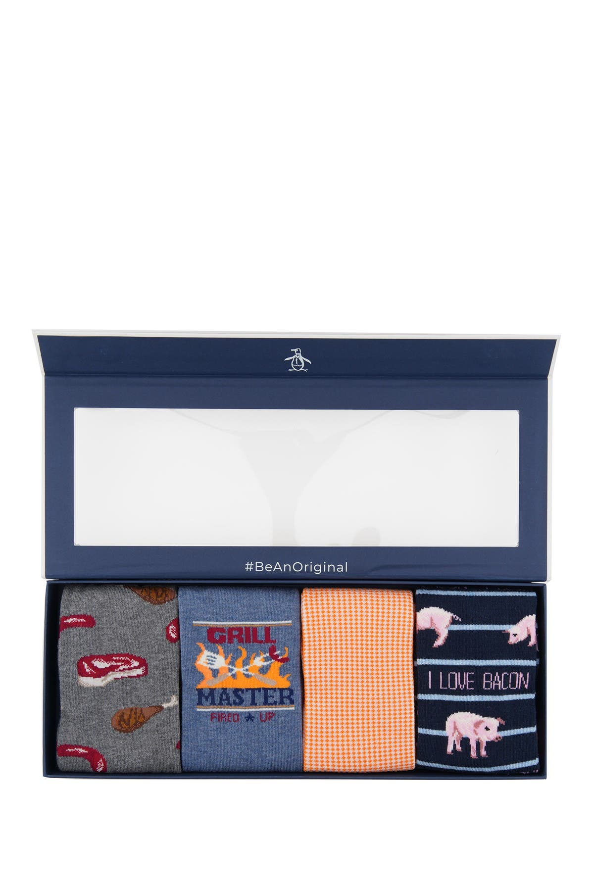 Image of Original Penguin Barbecue Sock Box
