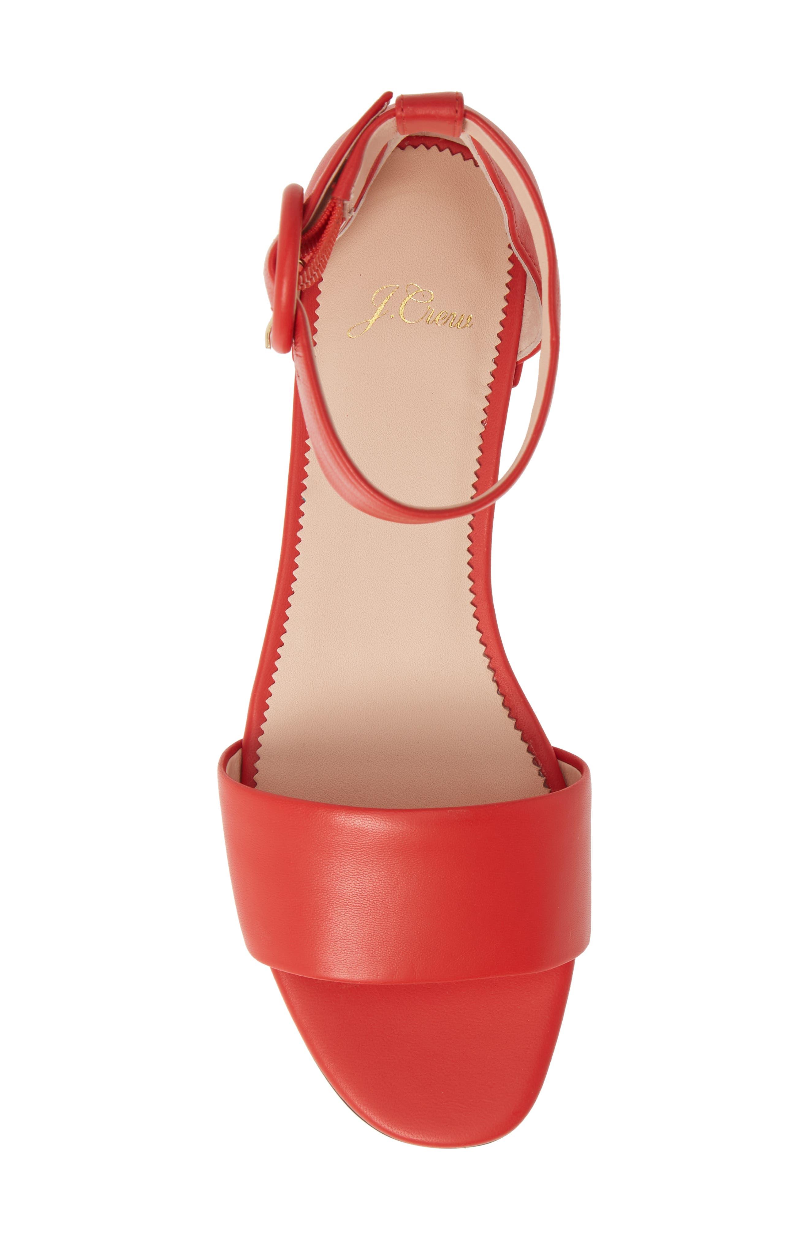 ,                             Ankle Strap Flat Sandal,                             Alternate thumbnail 11, color,                             600