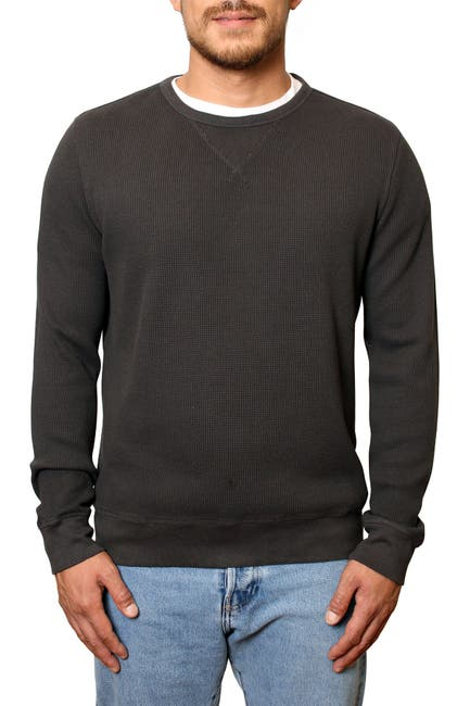 Image of Freedom Foundry Ridgecrest Waffle Knit Pullover Sweater