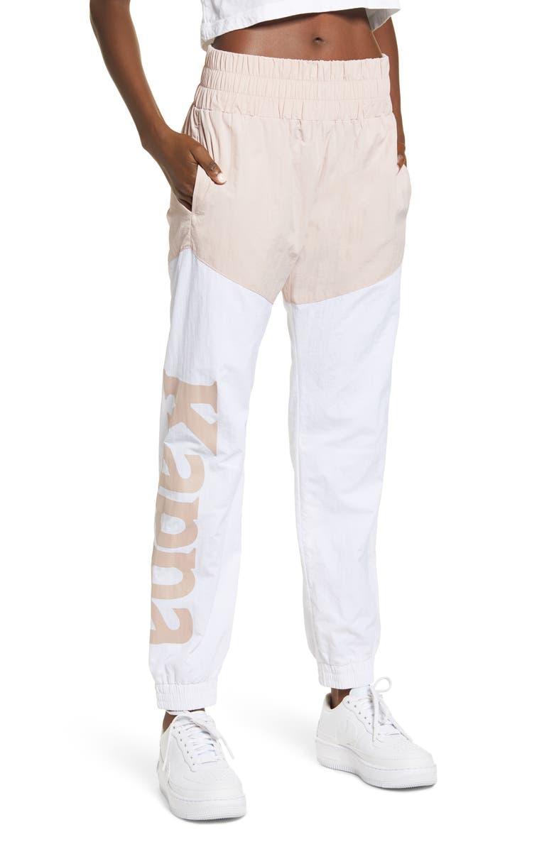 KAPPA Authentic '90s Bordos Pants, Main, color, PINK/ WHITE