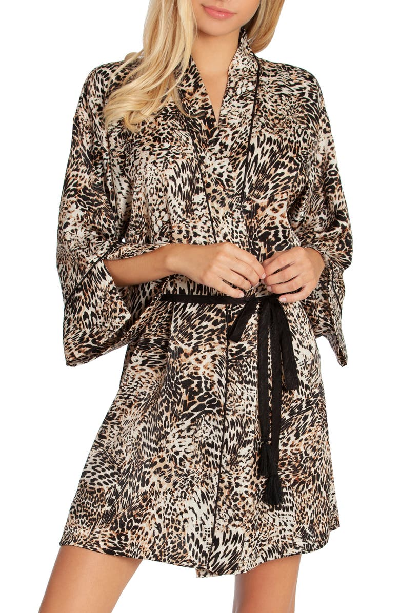 IN BLOOM BY JONQUIL Animal Print Wrap, Main, color, ANIMAL PRINT