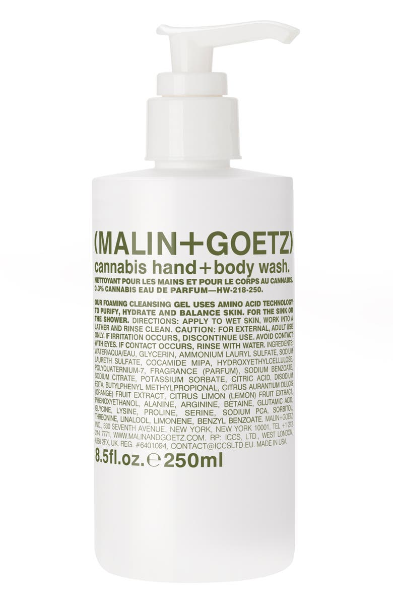 MALIN+GOETZ Cannabis Hand & Body Wash, Main, color, 000