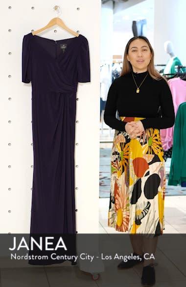 Matte Jersey Gown, sales video thumbnail