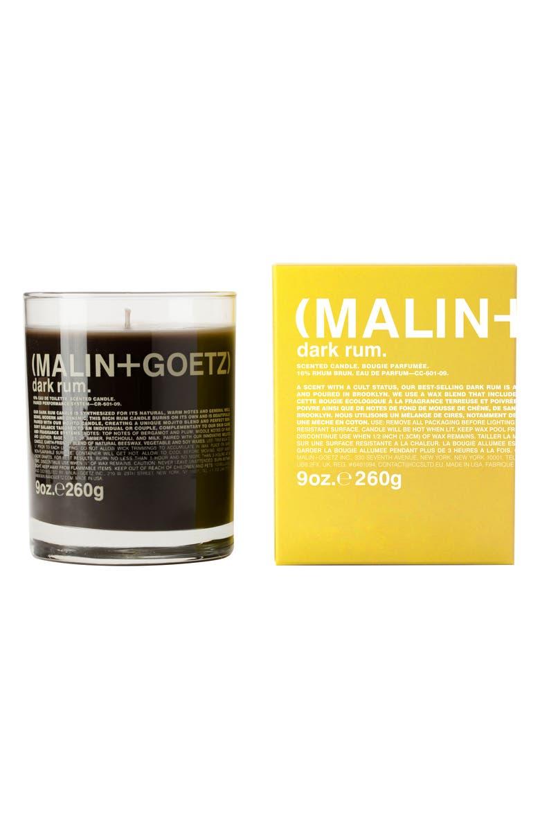 MALIN+GOETZ Candle, Main, color, DARK RUM