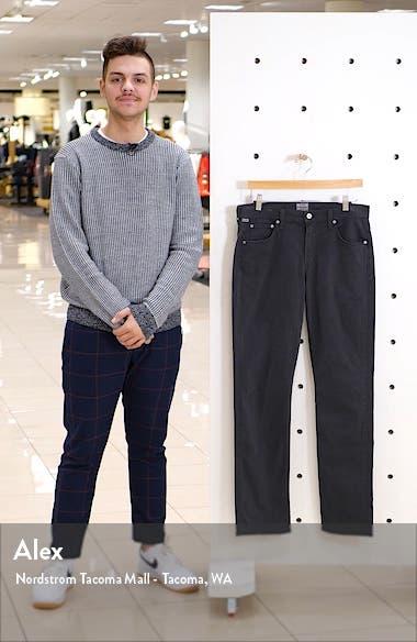 Gage Slim Straight Leg Twill Pants, sales video thumbnail