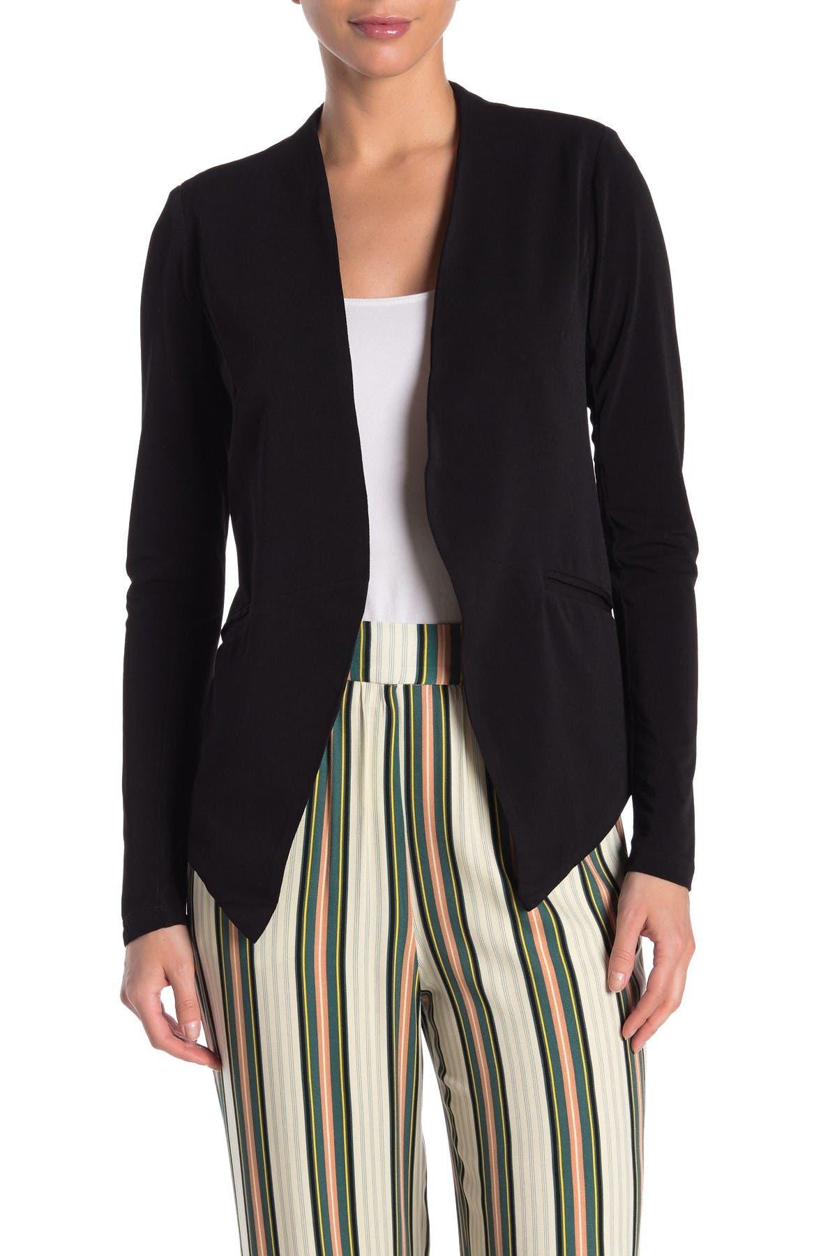 Image of BCBGeneration Tuxedo Knit Crepe Blazer