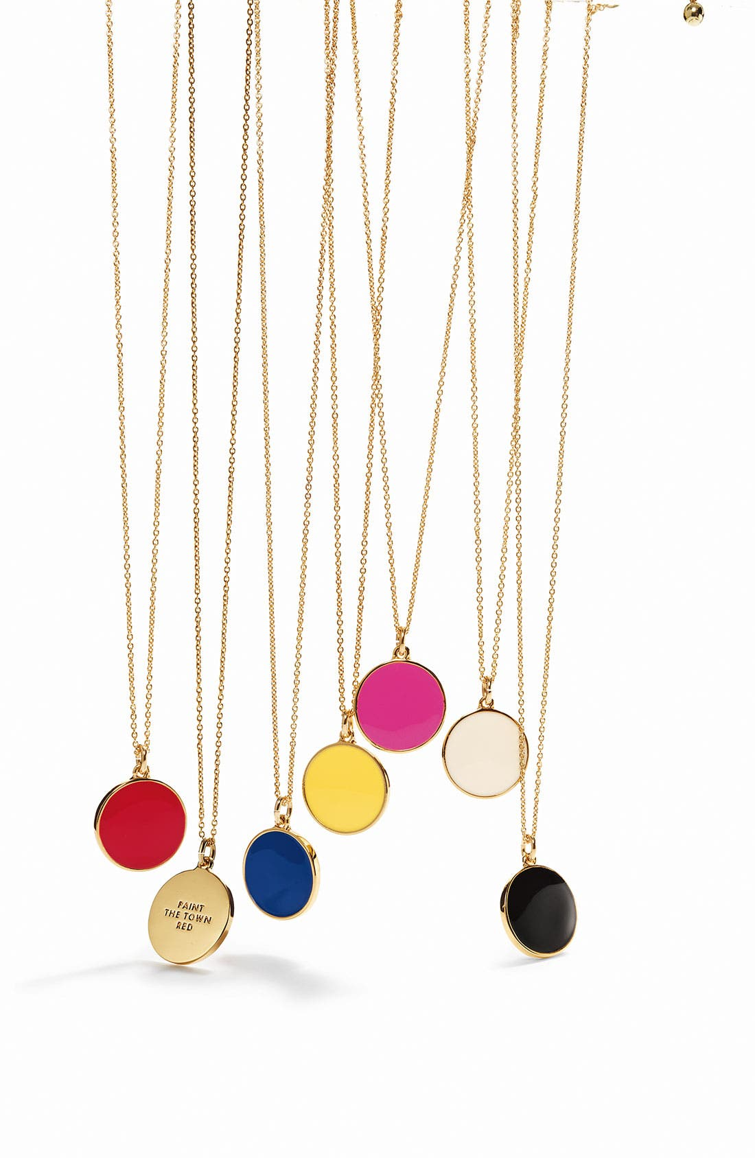 ,                             'idiom' reversible pendant necklace,                             Alternate thumbnail 3, color,                             001