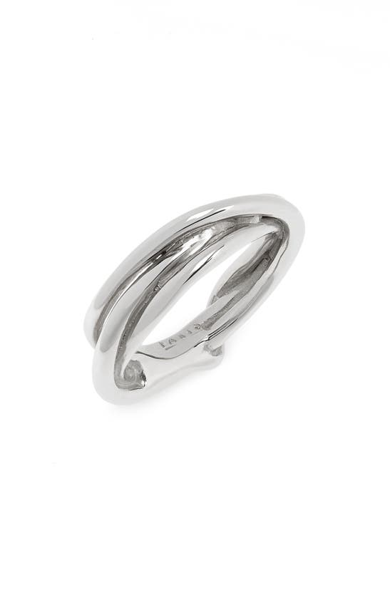 Faris Tangle Ring In Sterling Silver
