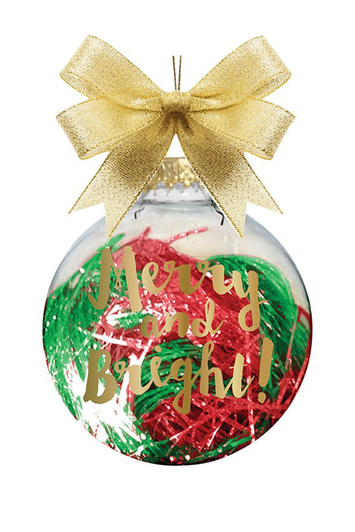 """Image of SLANT COLLECTIONS """"Merry & Bright"""" Novelty Ornament"""