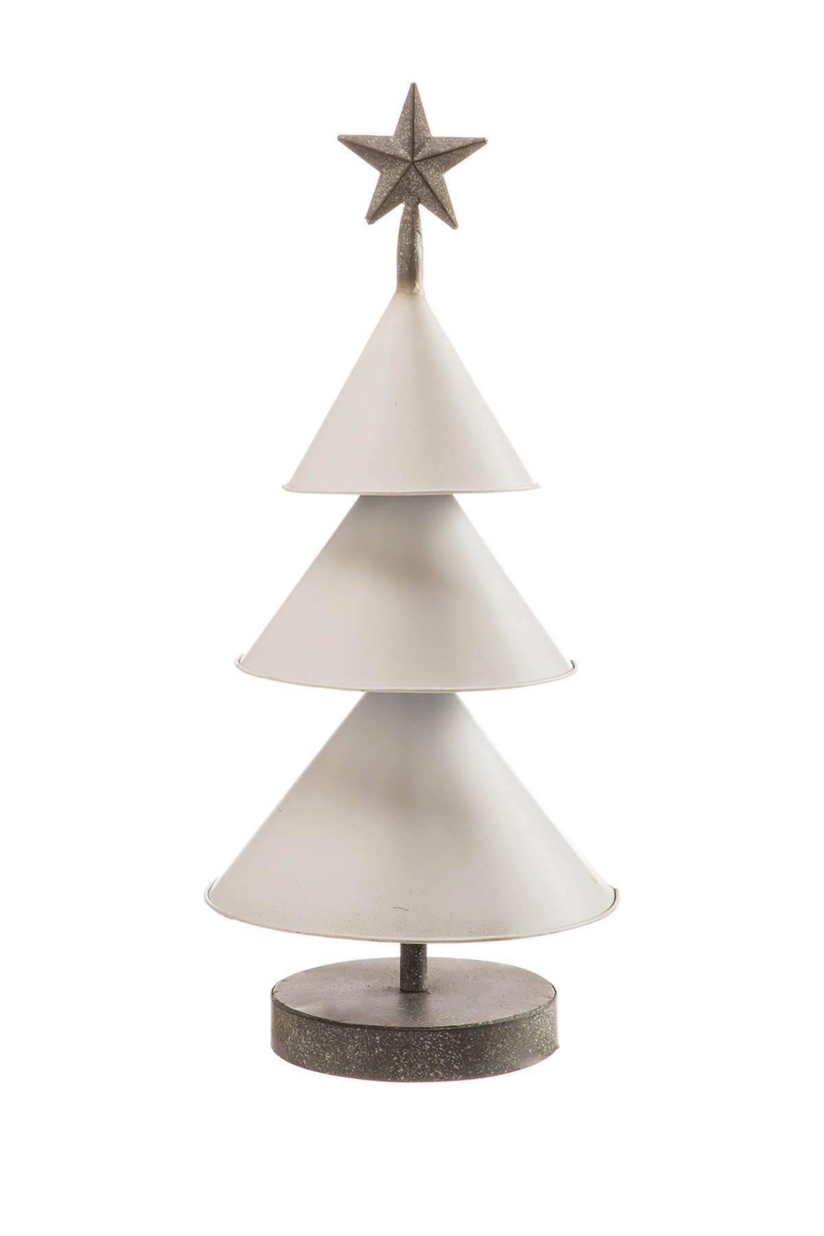 "Image of ALLSTATE 22.5"" Metal Tree with Star Table Top"