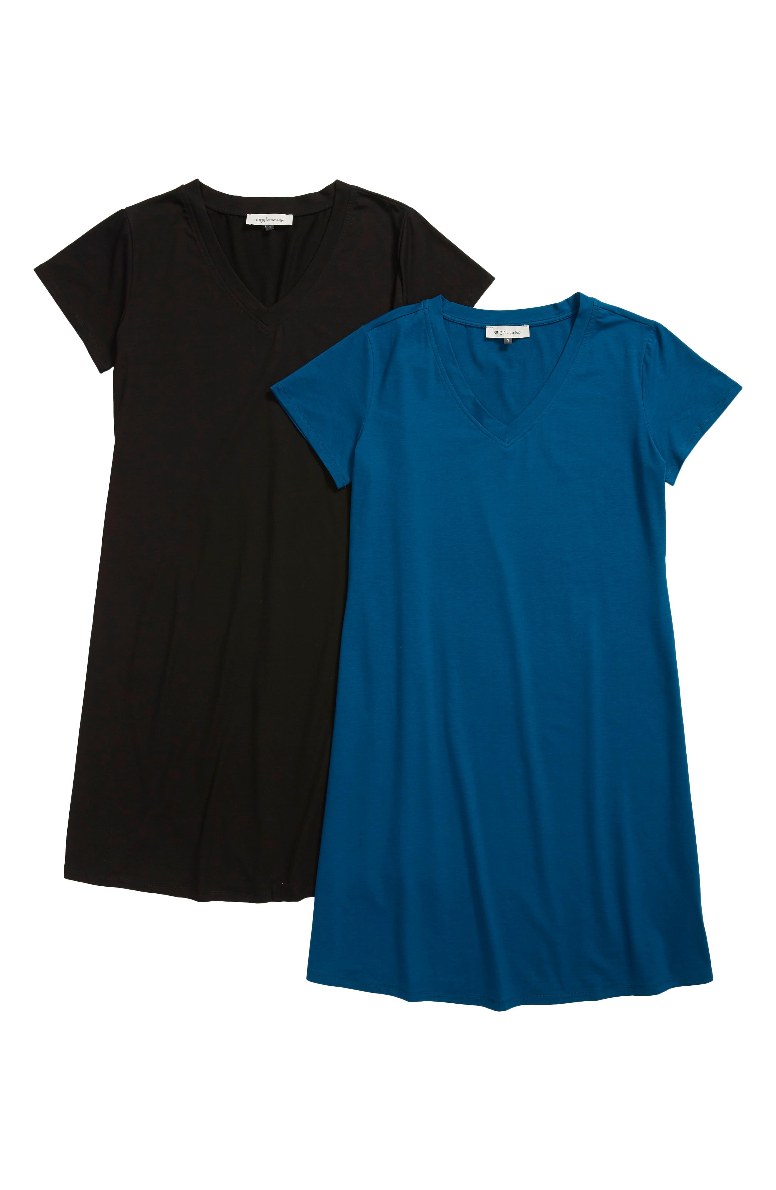 2-Pack Maternity T-Shirt Dresses