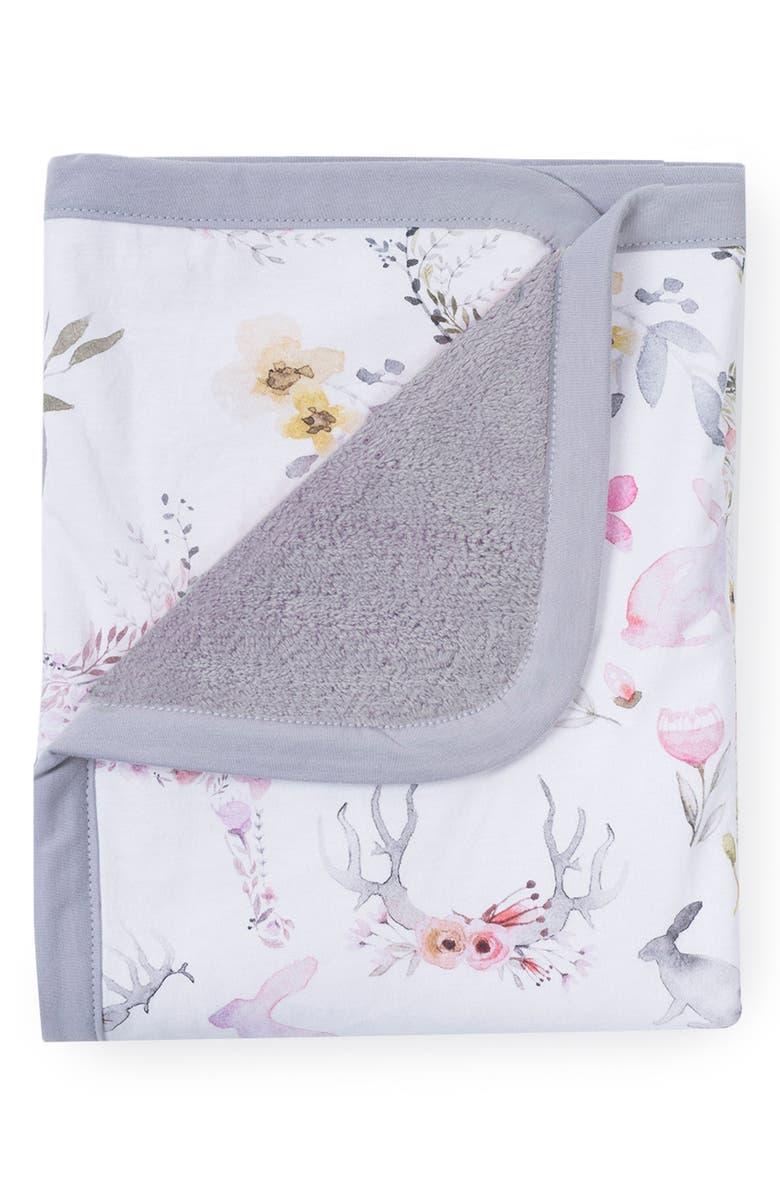 OILO Fawn Cuddle Blanket, Main, color, 650