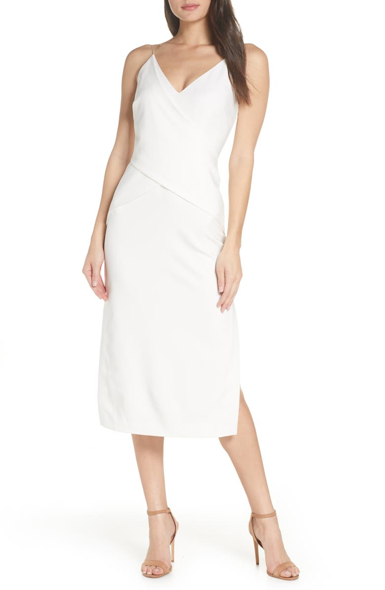 FINDERS KEEPERS Dreams Midi Dress, Main, color, 908