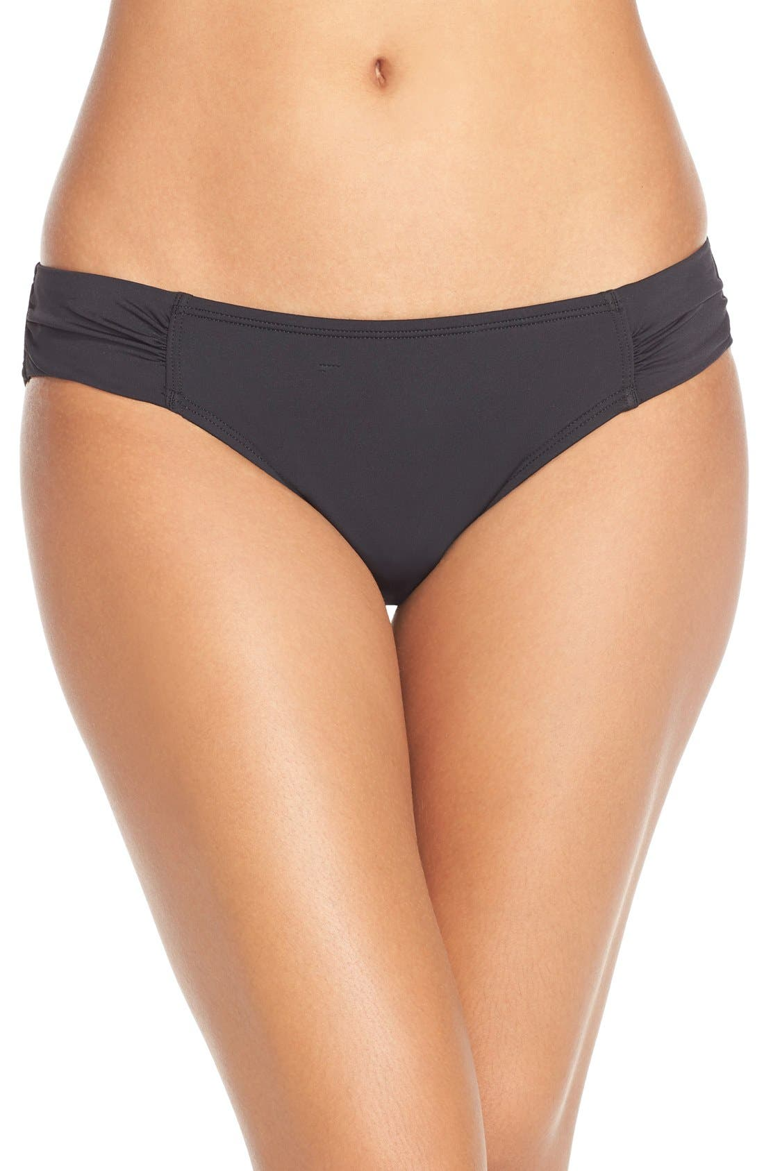 Image of Tommy Bahama Side Shirred Hipster Bikini Bottoms