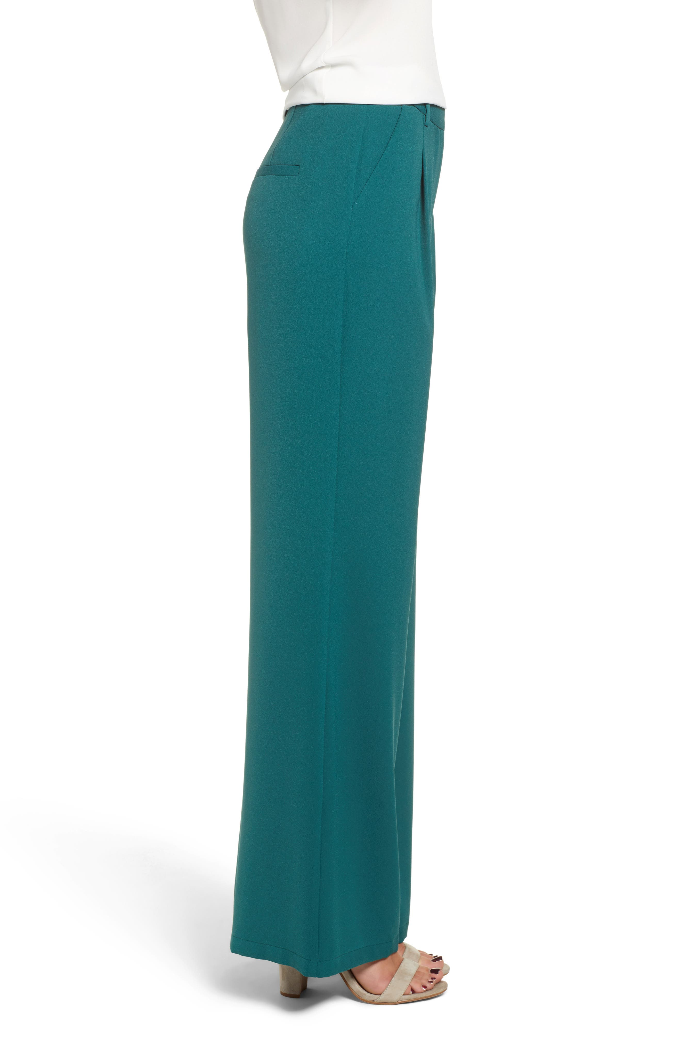 ,                             High Waist Flare Pants,                             Alternate thumbnail 26, color,                             301